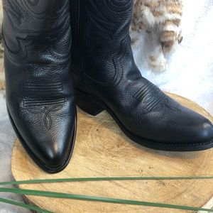 Durango Western Boots 6 Black, Cowboy Women's Kids